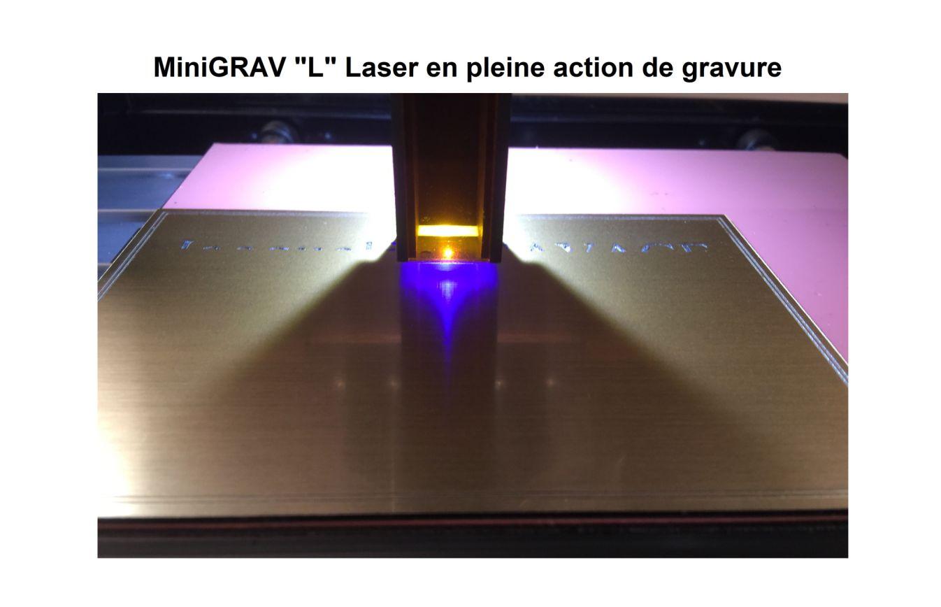 MiniGRAV Laser en production